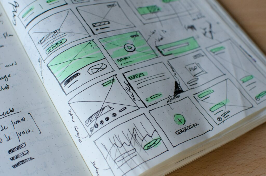 Web Design Notes in Paper