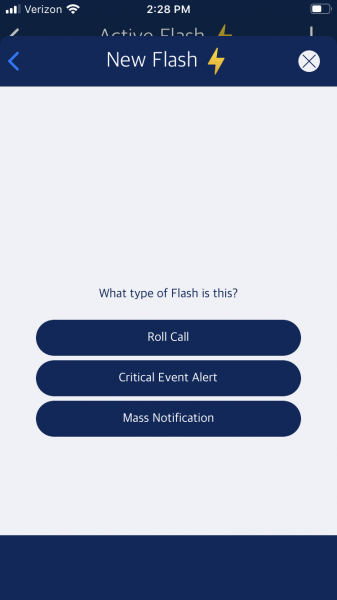 Flash Mobile Screenshot