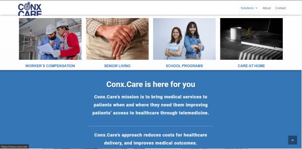 ConxCare Website Screenshot 2